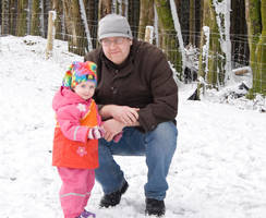 Abigail and Daddy'Me' by kango