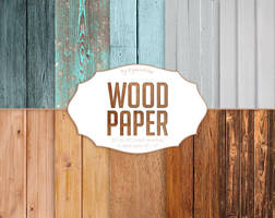 Wood Digital Paper by DigiWorkshopPixels