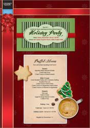 Christmas Party Invite by kameryn