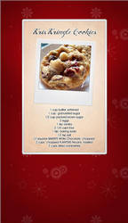 Kris Kringle Cookie Recipe by kameryn