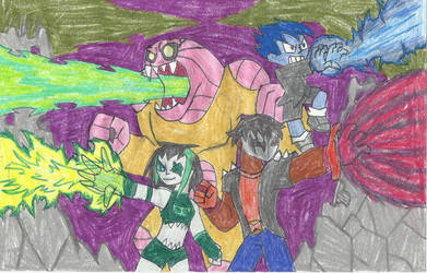 Art Trade: deadly attacks by yogelis