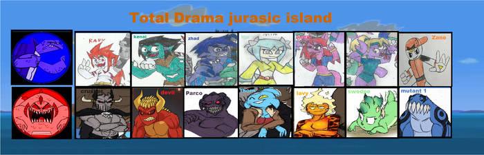 Total Drama Jurasic Island by yogelis