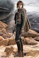 Star Wars - Jyn Erso - Rogue One - Felicity Jones by tomatosoup13