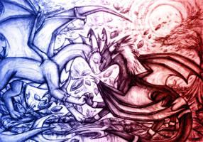 [COM] Videri and Mina by catkitte