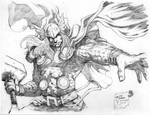 Thor sketch by werder