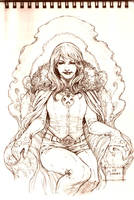 Emma Frost - The White Queen by werder