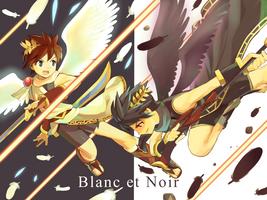 Blanc et Noir by FrostmanSnowman