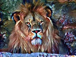 Aslan from Narnia by eReSaW