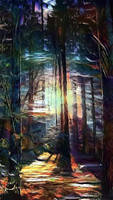 Magical forest by eReSaW