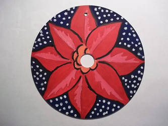 Christmas Ornamanet, Flower by Emo-Gothic-Seiya