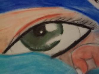 Oil Pastail Eye by Emo-Gothic-Seiya