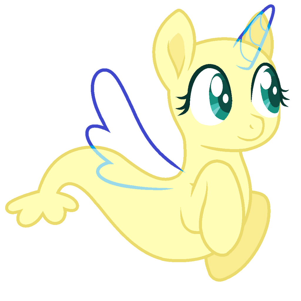 MLP Base- Cute Merpony By Alari1234-Bases On DeviantArt