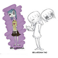 Belladonna one and two by LutesWarmachine