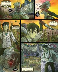 Nekyia Draft Comic 8 by LutesWarmachine