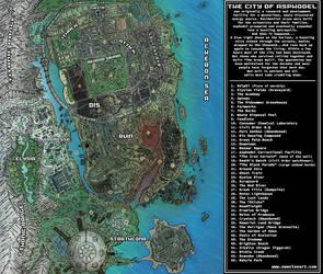 Asphodel Map by LutesWarmachine