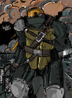 TMNT: SaiNW - Michelangelo by Dima-bobr