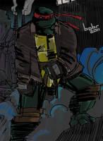TMNT: SaiNW - Raphael by Dima-bobr