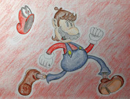 Super Odd Mario by SketchingBoyT