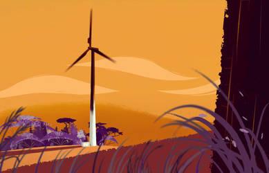 Wind Turbine by Ambilina