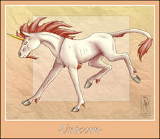 Mythical Creature-Unicorn by BlueEyesBlackTears