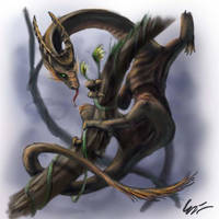 2009: Stalk Dragon by carakav