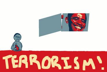 Political Cartoon by Soupfries