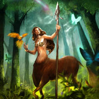 Dryad by Ron-faure