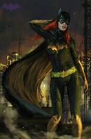 Batgirl by Ron-faure