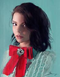Anya Taylor-Joy by Ron-faure