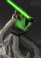 Luke Skywalker by Ron-faure