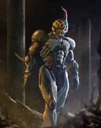 Guyver 1 by Ron-faure