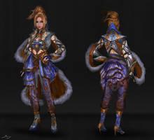 Wizard 2 - Character Concept by Ron-faure
