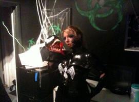 Female Venom Cosplay by Winged-warrior