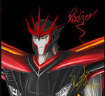 Rodizer ~Dark~ Prime (close up) by Void-Knockout