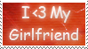I Love My Girlfriend Stamp by RecklessKaiser