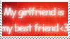 My Best Friend Stamp by RecklessKaiser