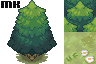 Tile | Mini-tileset nature by MichaKing