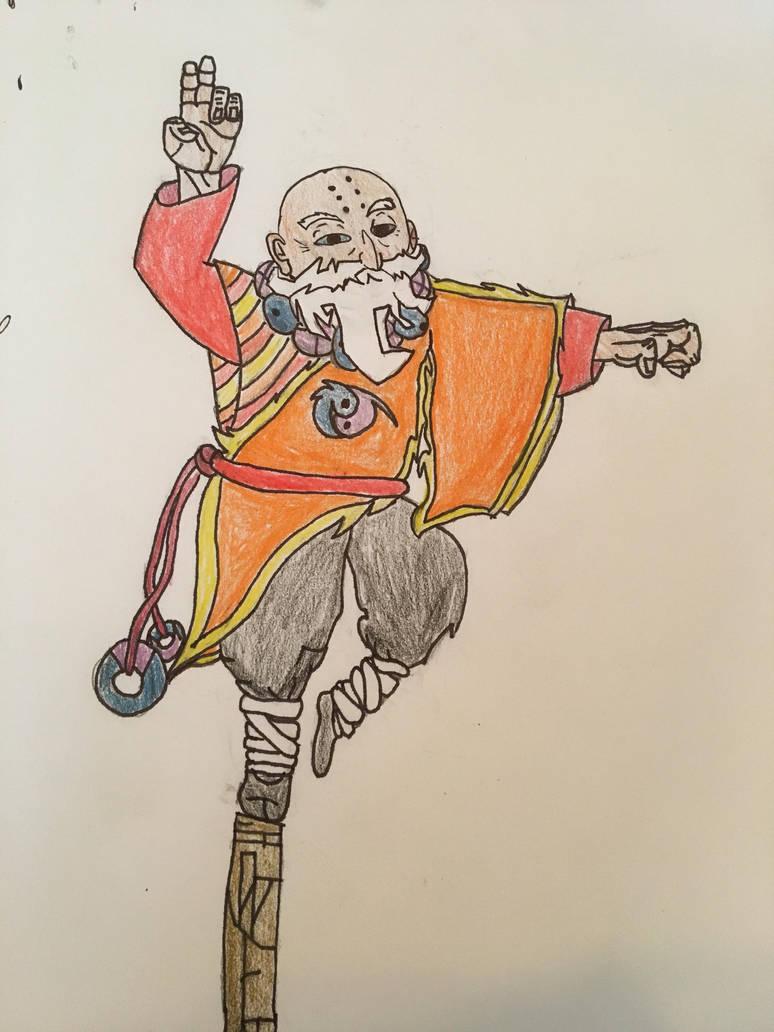 Warrior Monk: Genjo by ChromasTheBeyonder