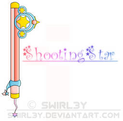 Shooting Star Keyblade by SwirleePJ