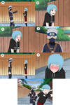 Kakashi and Mina First Meeting [Page 4] by Pungpp