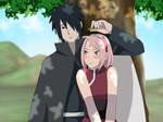 Sasuke x Sakura by Pungpp