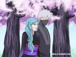 Mina And Kakashi [Naruto and Hinata's wedding.] by Pungpp