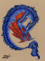 Blue by Kokorvesa