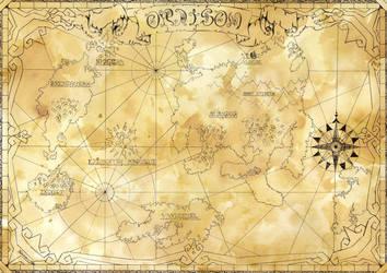 Oraison map by Kokorvesa