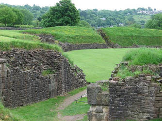 Roman Arena in Caerleon / Wales by Irmanamers