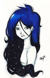 Long and Blue by Mirian