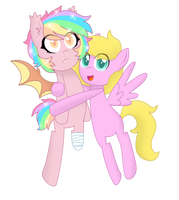 Gift: A pretty little bat by superAnina