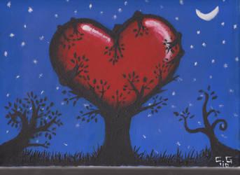 Some tree painting by Stingo128