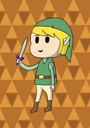 Chibi Link  by jrodicon