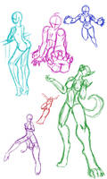 Poses by Generic-username